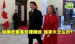 如果杜鲁多总理确诊 加拿大怎么办?